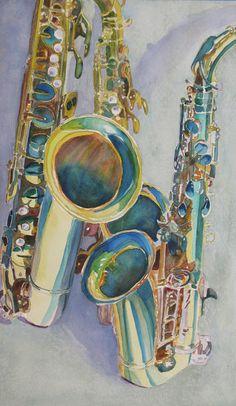 We've got saxophones 'cause we've got a band...