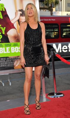 Actress Jennifer Aniston attends the 'Horrible Bosses' Los Angeles Premiere at Grauman's Chinese Theatre on June 30 2011 in Hollywood California