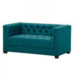 Sofa Grand (2-Sitzer) - Webstoff - Stoff Ramira Türkis