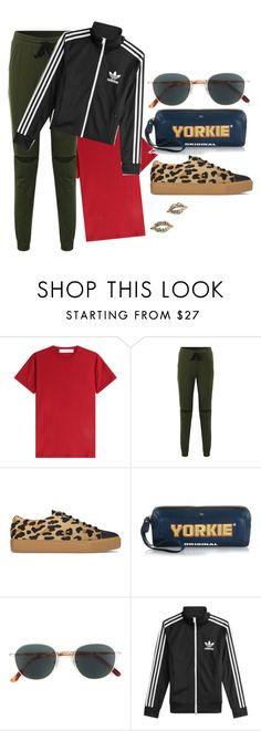 """""""Sweet On"""" by chelsofly on Polyvore featuring dVb Victoria Beckham, SWEAR, Anya Hindmarch and adidas"""
