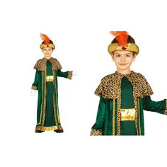 Disfraz de Rey Mago Baltasar Niño Christmas Nativity, Christmas Crafts, Xmas, Biblical Costumes, King Costume, Christmas Program, Aladdin, Art Dolls, Disney Characters