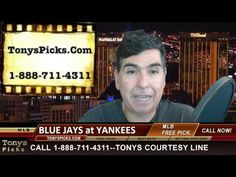 Toronto Blue Jays versus New York Yankees MLB Pick Betting Lines Predict...