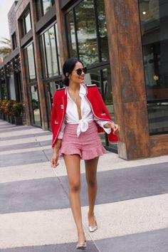 Alpa Rama e o Caso de Amor por Broches Chanel - Gabi May Elegant Summer Outfits, Elegant Outfit, Classy Outfits, Casual Outfits, Fashion Outfits, Summer Chic, Classy Street Style, Estilo Preppy, Mode Inspiration