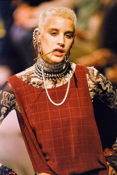 eve salvail jean paul gaultier 1994