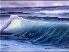 Bob Ross - Painting Surf's Up - Bob Ross Fans