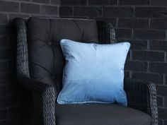 Velvet Pillows, Throw Pillows, Initial Cushions, Plain Cushions, Velvet Material, House Numbers, Pillow Inserts, Cover, Room
