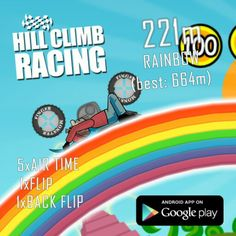 Hill Climb Racing, Android Apps, Climbing, Mountaineering, Hiking, Rock Climbing