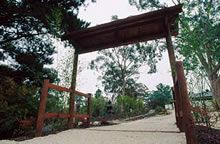 Entrance to tranquility