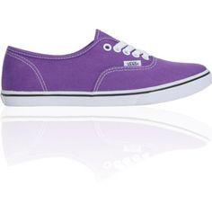Vans Girls Authentic Lo Pro Amaranth Purple Shoe