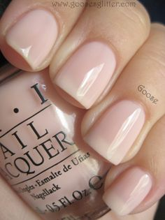 """Wedding fingernail color: OPI """"NYC Ballet Soft Shades Collection"""" - Barre My Soul, still need to find toe color"""
