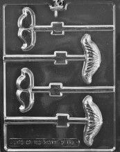Mustache Mix Lolly Mold $3.50