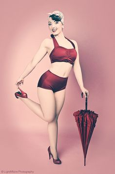 great pin-up pose