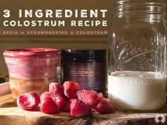 Fertile Fruits and a Healthy Gut - 3 Ingredient #Colostrum #Recipe! #kefir #smoothie #bovinecolostrum #yummy