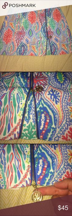Lilly Pulitzer skort Such a cute skort for spring and summer! Only worn once. Lilly Pulitzer Skirts Mini