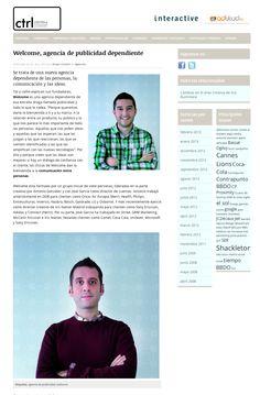 Aquellos maravillosos años. Así aparecían Antonio y José en la revista Control. Y es verdad, que no nos lo inventamos: http://controlpublicidad.com/2013/01/25/welcome-agencia-de-publicidad-dependiente