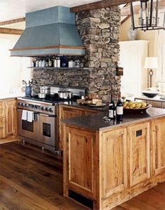 Merveilleux Kitchen , Get A Superb Look By Building Extraordinary Rustic Italian  Kitchens In Small Spaces :