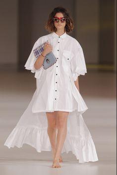 White flowing shirt