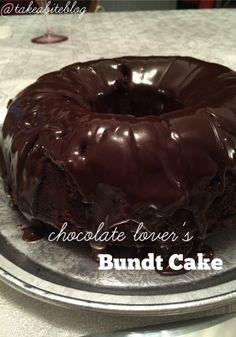 Chocolate Lover's Bundt Cake @takeabiteblog