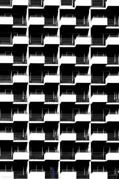 Balconies - repeating patterns in architecture, high contrast texture inspiration