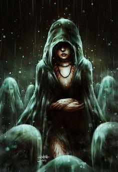 Listen To Our Tales by NanFe on DeviantArt Fantasy Kunst, Dark Fantasy Art, Dark Art, Dark Gothic, Gothic Art, Character Inspiration, Character Art, Ange Demon, Horror Art
