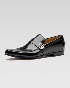 Leather Loafer by Gucci at Bergdorf Goodman.