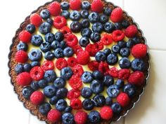 """Saltbox House: """"You Picked"""" Almond Berry Tart"""