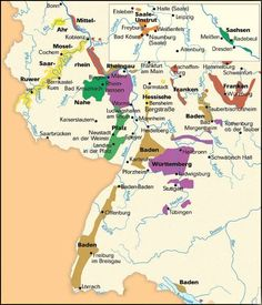 german wine map picture germanys wine regions