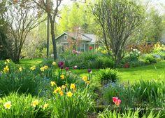 Aiken House & Gardens: Dreaming of our Spring Garden