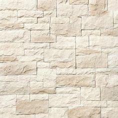 Litestone Flat Yuma 8 Sq Ft Ft Mixture Of Beige Colors Faux Stone Veneer 3962 Stone Veneer Exterior, Faux Stone Veneer, Austin Stone Exterior, Stone Exterior Houses, Stone Siding, Exterior Homes, Stone Cladding, Modern Exterior, Faux Stone Fireplaces