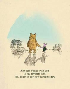 Your Favorite Quote About Friendship? Winnie the Pooh usually hits the nail on the head when it comes to displaying love for your BFF.Winnie the Pooh usually hits the nail on the head when it comes to displaying love for your BFF. You Are My Favorite, My Favorite Things, Favorite Person, Heart Warming Quotes, Winnie The Pooh Quotes, Winnie The Pooh Drawing, Winnie The Pooh Classic, Vintage Winnie The Pooh, Winnie The Pooh Friends