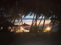 Sunset at Rainika Beach