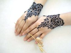 1000 images about tats on pinterest music tattoos lace for Lace glove tattoo