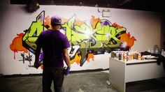 This is an old friend of mine...love his story, check it out! Jeff Goring – BBoy / Graffiti Artist / Sonz of God Clothing