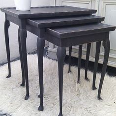 Welsh gifts, homewares, accessories and café bar Upcycled Furniture, Vintage Furniture, Painted Furniture, Welsh Gifts, Furniture Makeover, Furniture Ideas, Nesting Tables, Small Tables, Cafe Bar