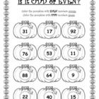 Use this worksheet as a quick check for a lesson on Odd and Even numbers.  It is an enjoyable way to assess understanding of odd and even numbers....