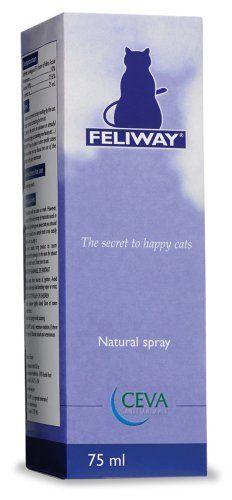 Feliway Behavior Modifier Spray 75 ml: http://www.amazon.com/Feliway-Behavior-Modifier-Spray-75/dp/B001GQI8SS/?tag=httpbetteraff-20