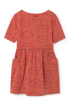 Bobo Choses Clouds Pockets Dress