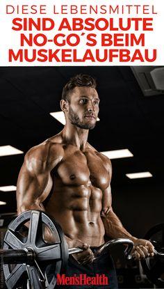 Trainieren alleine reicht nicht: Um Muskeln aufzubauen, muss auch die Ernährung stimmen. Diese 6 Lebensmittel gehören nicht auf Ihren Ernährungsplan beim Muskelaufbau