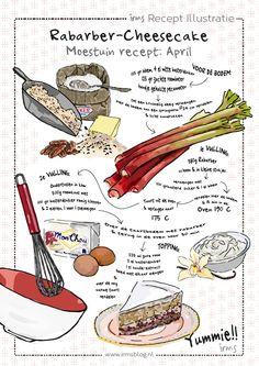 Fruit Recipes, Indian Food Recipes, Sweet Recipes, Baking Recipes, Rhubarb Recipes, Recipe Drawing, Homemade Books, Food Journal, Recipe Journal