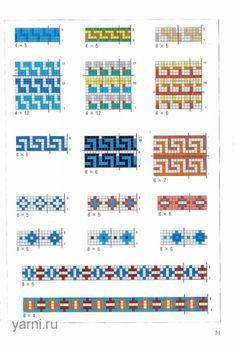 Des motifs intéressants, à regarder plus tard /  Нажмите, чтобы посмотреть в полный размер