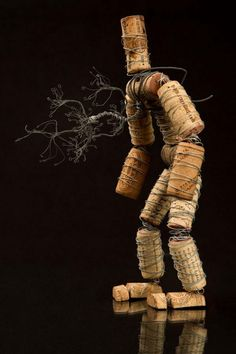 Wine Cork Man.