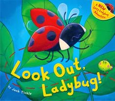 Look Out, Ladybird!, written and illustrated under Jack Tickle pseudonym Learn To Fly, New Things To Learn, New Children's Books, Good Books, Lady Bug, Toddler Storytime, Book Bins, Spring Books, Preschool Books