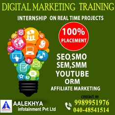 Digital Marketing And we providing placements also visit for more details Marketing Training, Online Marketing, Digital Marketing, Youtube, Youtubers, Youtube Movies