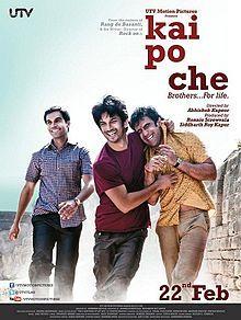Kai Po Che Review..  http://www.metromatinee.com/Review/Kai%20Po%20Che%20Review.-246-1