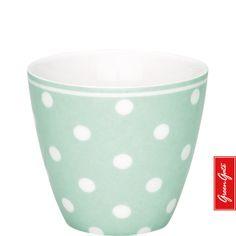 Greengate latte cup Naomi mint