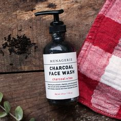 Charcoal Face Wash 01