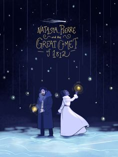 Natasha, Pierre and the Great Comet of 1812 -- a weird show, but it grows on you Broadway Theatre, Musical Theatre, Broadway Shows, Musicals Broadway, Great Comet Of 1812, The Great Comet, Theatre Nerds, Theater, Ella Enchanted