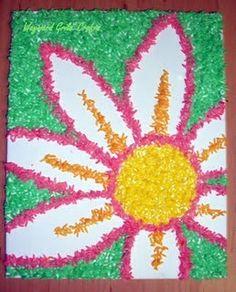 Summer crafts with kids
