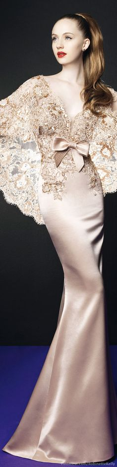 Zuhair Murad for Rosa Clará 2014 in Blush