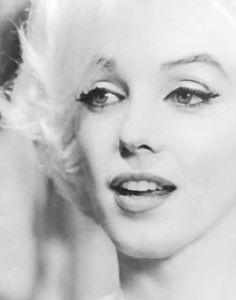 Marilyn Monroe,1962 shortly before her death. Her beauty had blossomed into a mature beautiful woman.